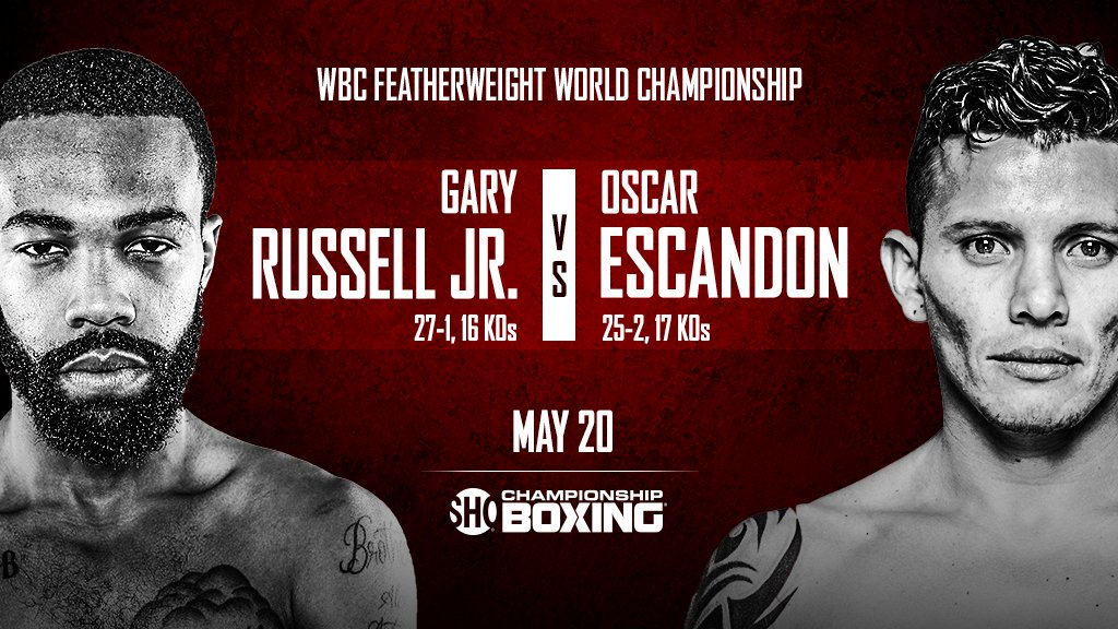 Image result for Gary Russell Jr. vs. Oscar Escandon live pic logo