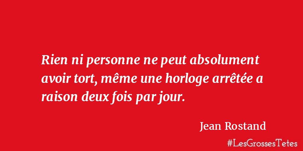 Tort ou raison? #citation #LesGrossesTêtes <br>http://pic.twitter.com/Tf42XJpyKC