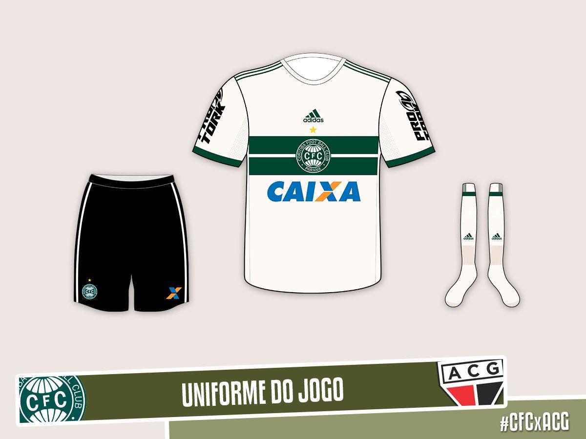 CFCxACG - Hoje estreia do novo uniforme do Coxa com a  adidasbrasil ! Já d25bae633f12b