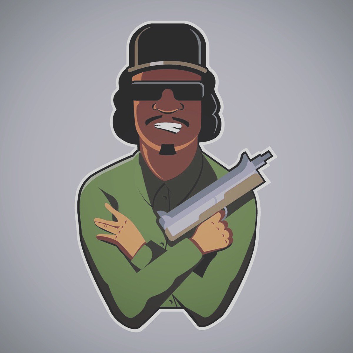 Rockstar Games On Twitter Fanart Legendary San Andreas Hustlers Big Smoke Ryder Done Up As Fun Caricature Stickers By Artist Yuri Zalipaev