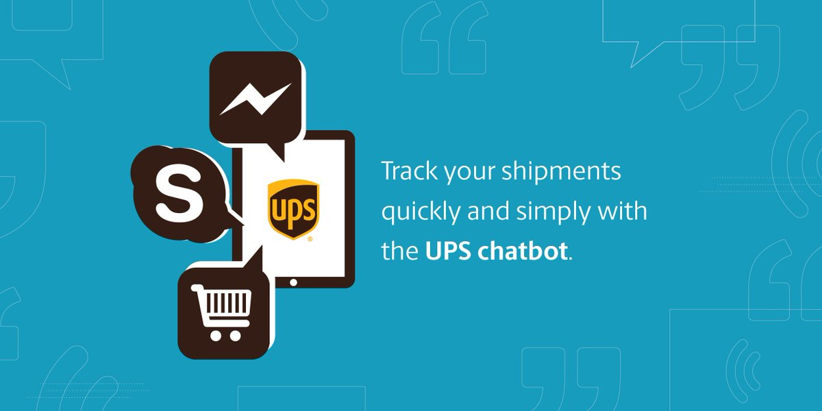 Ups On Twitter No Tracking Number No Worries Just Ask The Ups