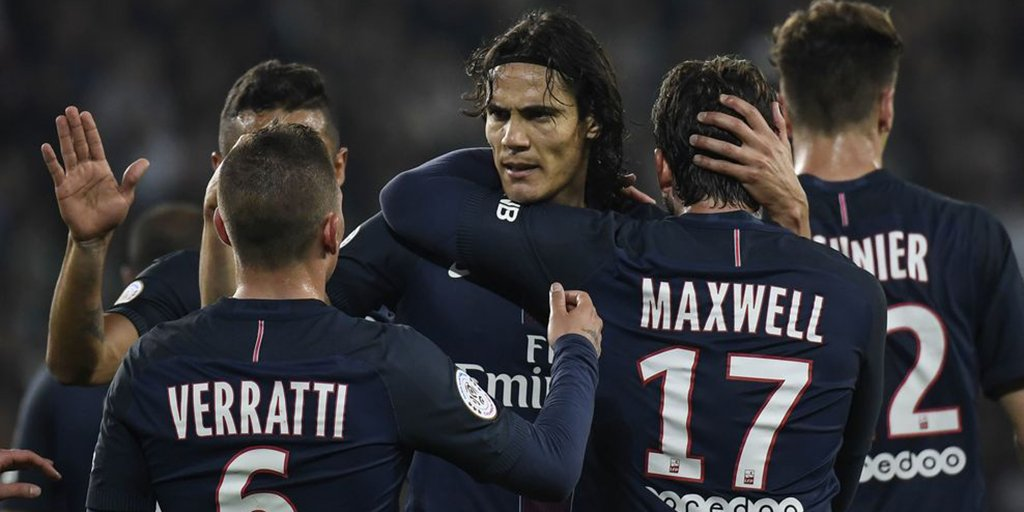 Defending champions @PSG_English kept their title hopes still burning with a massive 5-0 win at @ASSEofficiel on Sunday #ASSEPSG #Ligue1<br>http://pic.twitter.com/r0die9yv5e