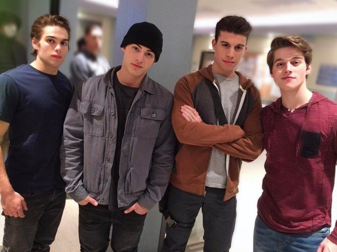 Here's a throwback photo of some of my favorite dudes @DSprayberry @ReallyCody @andrewmatarazzo @froynextdoor 💪