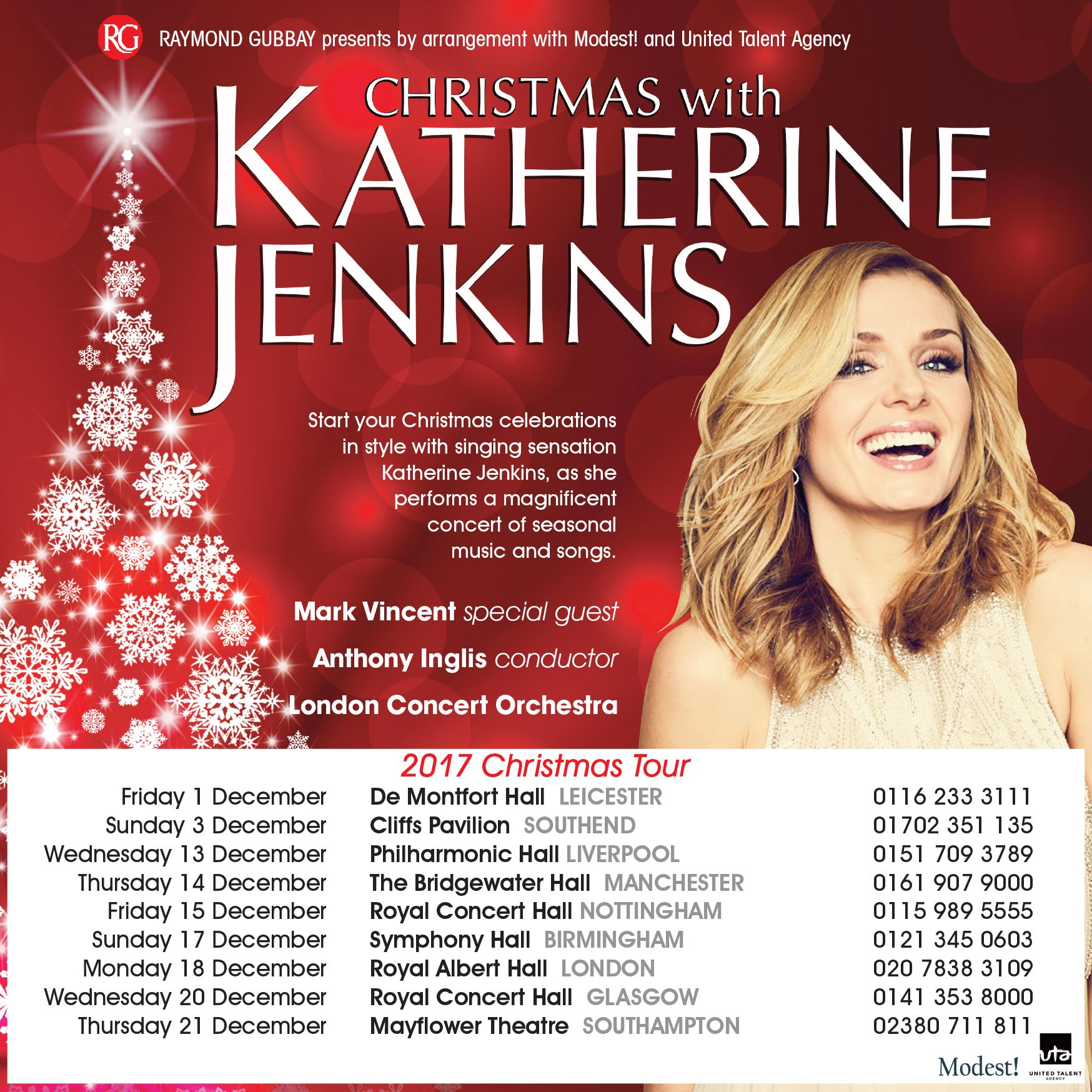 RT @ModestMgmt: Tickets for Christmas with @KathJenkins are on sale now! Get yours here: https://t.co/lhAASYC98w https://t.co/LcjUBZ7B3n