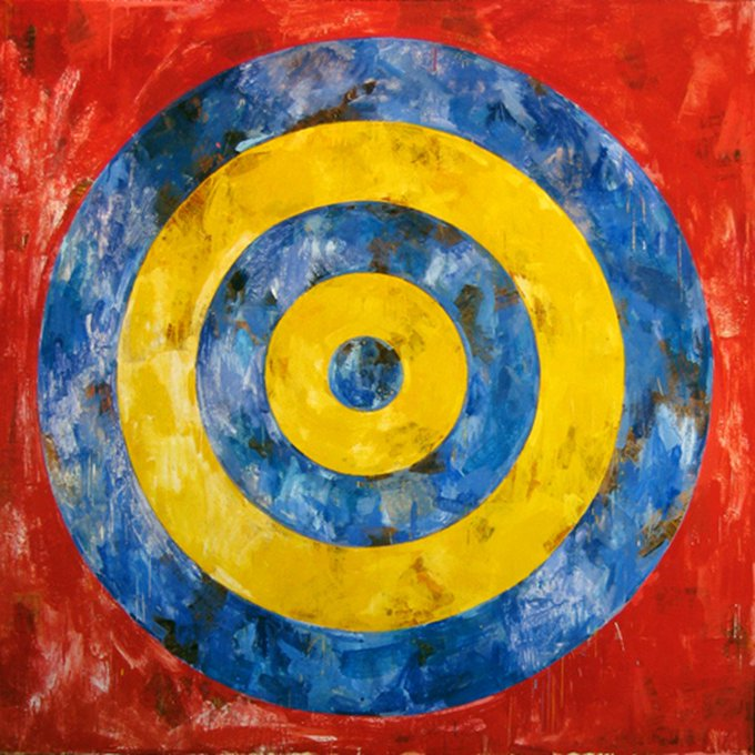 Happy Birthday to Jasper Johns, born on this day in 1930: