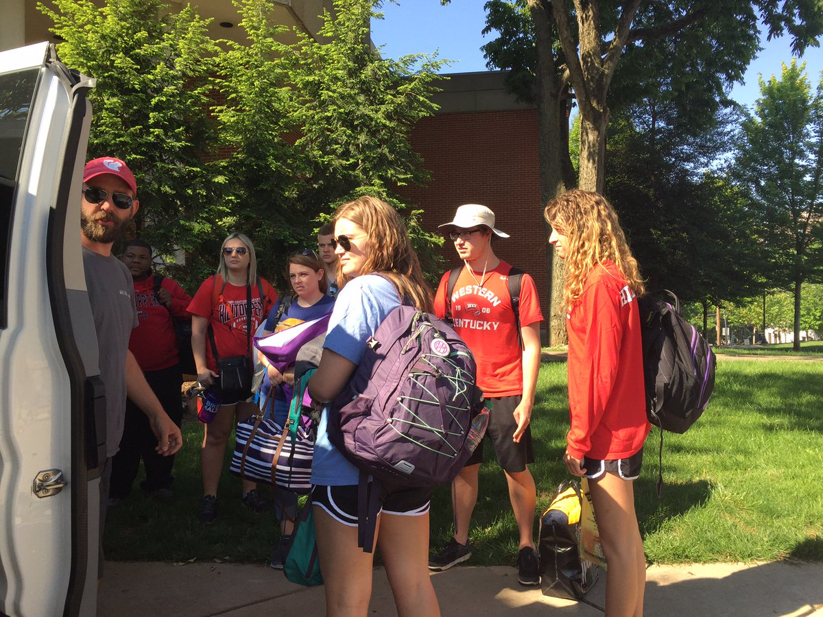 Storm chase students are on their way! Follow @wkustormchase to keep up to date with their adventures!