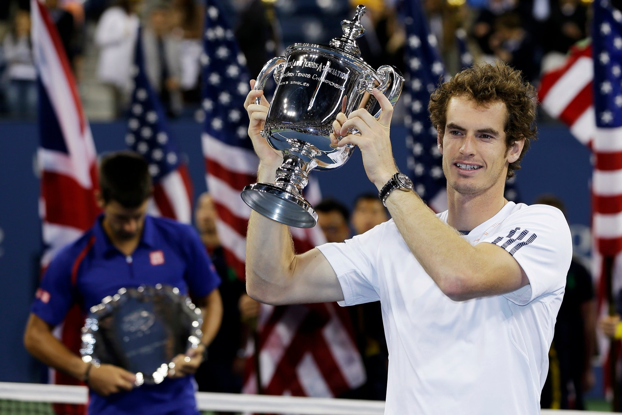 Happy 30th Birthday to Andy Murray, US Open 2012.