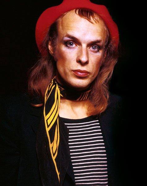 The Real Mick Rock Wishing Brian Eno a happy birthday!