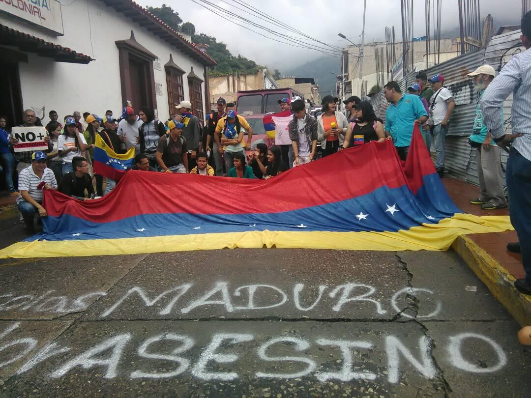 Anti-government protest in Trujilo