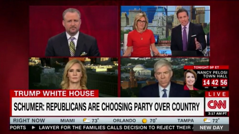 CNN's Chris Cuomo: No GOP Lawmakers Would Come On To Defend Comey Firing https://t.co/3nzYLENpSi