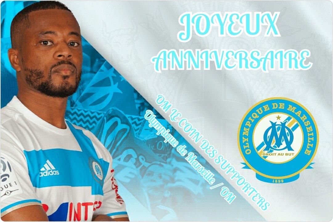 Joyeux anniversaire @Evra !  #Evra #TeamOM #OMSCB #FCGBOM <br>http://pic.twitter.com/Jqwq3i7rzv