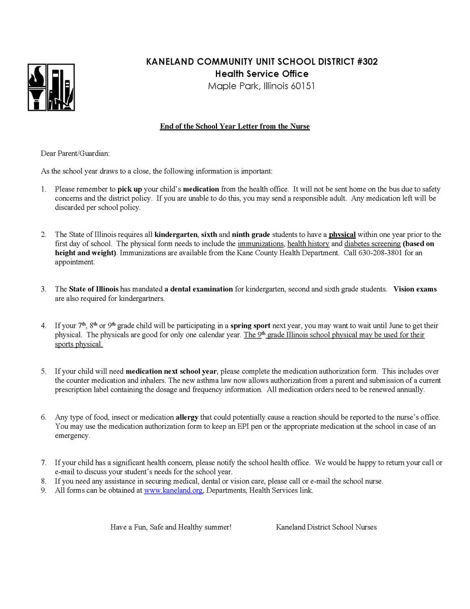 Kaneland high school on twitter please read the following letter kaneland high school on twitter please read the following letter from the district nurse regarding important end of the year health information thecheapjerseys Images