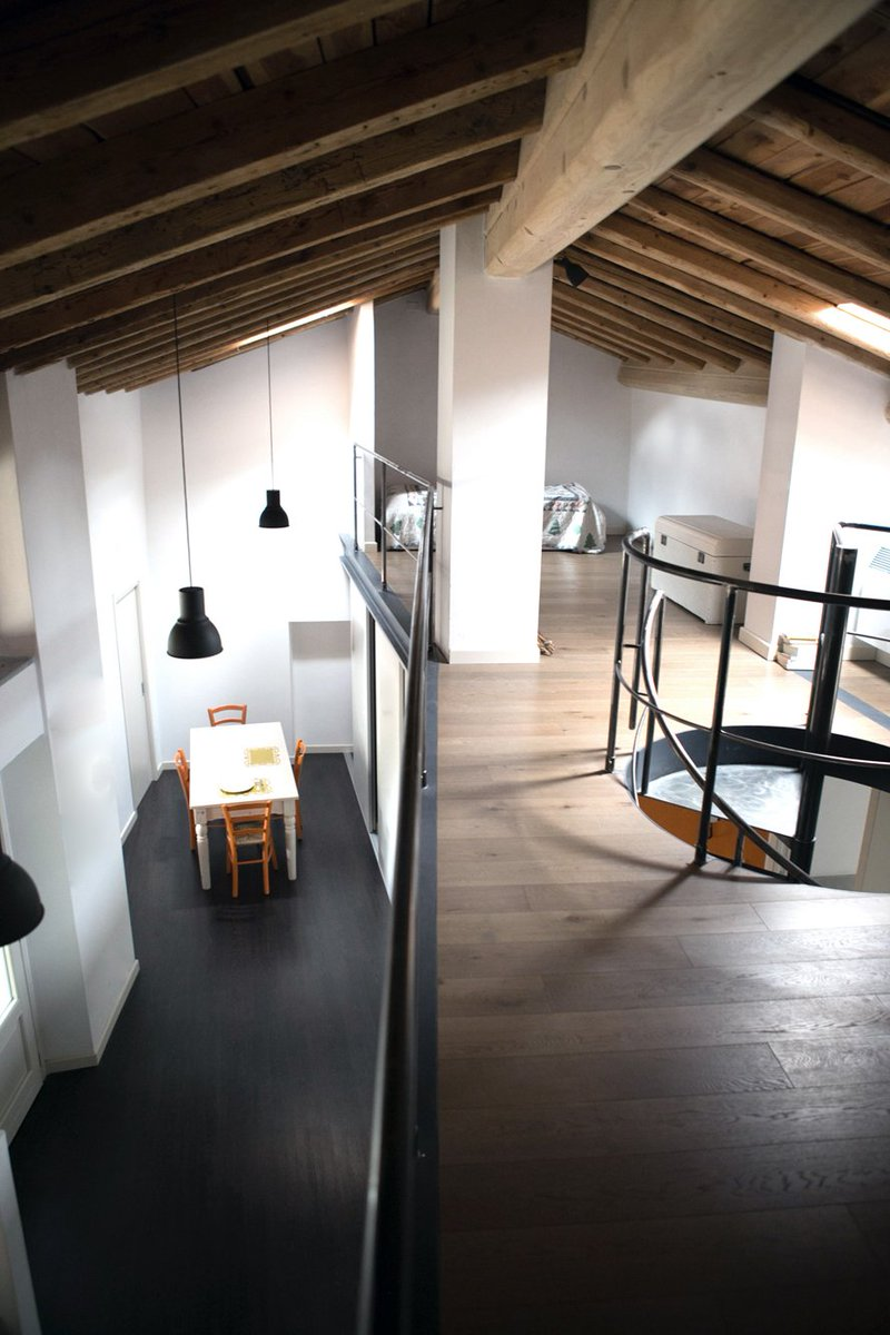 Gallery of loft brescia interni interior with interior - Interior design brescia ...
