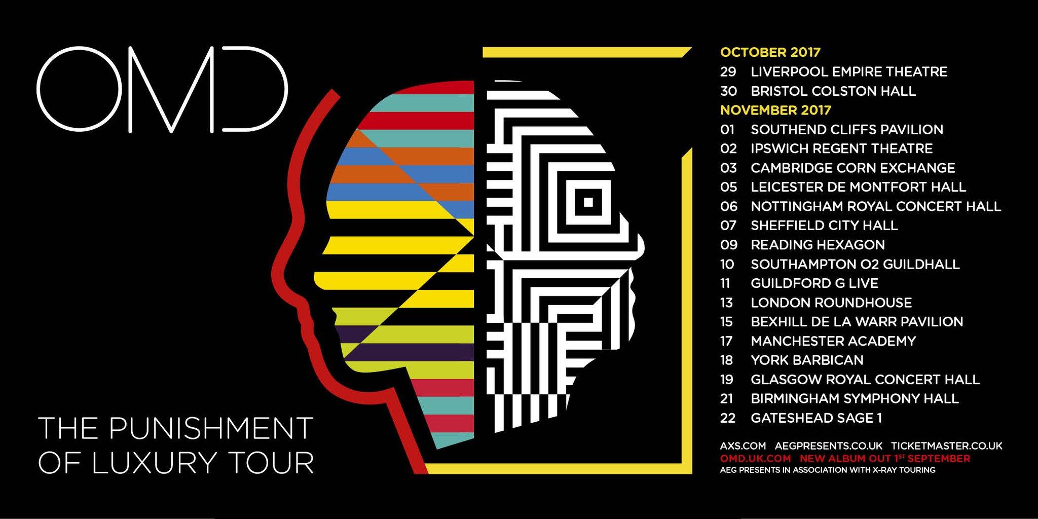 Omd Uk Tour