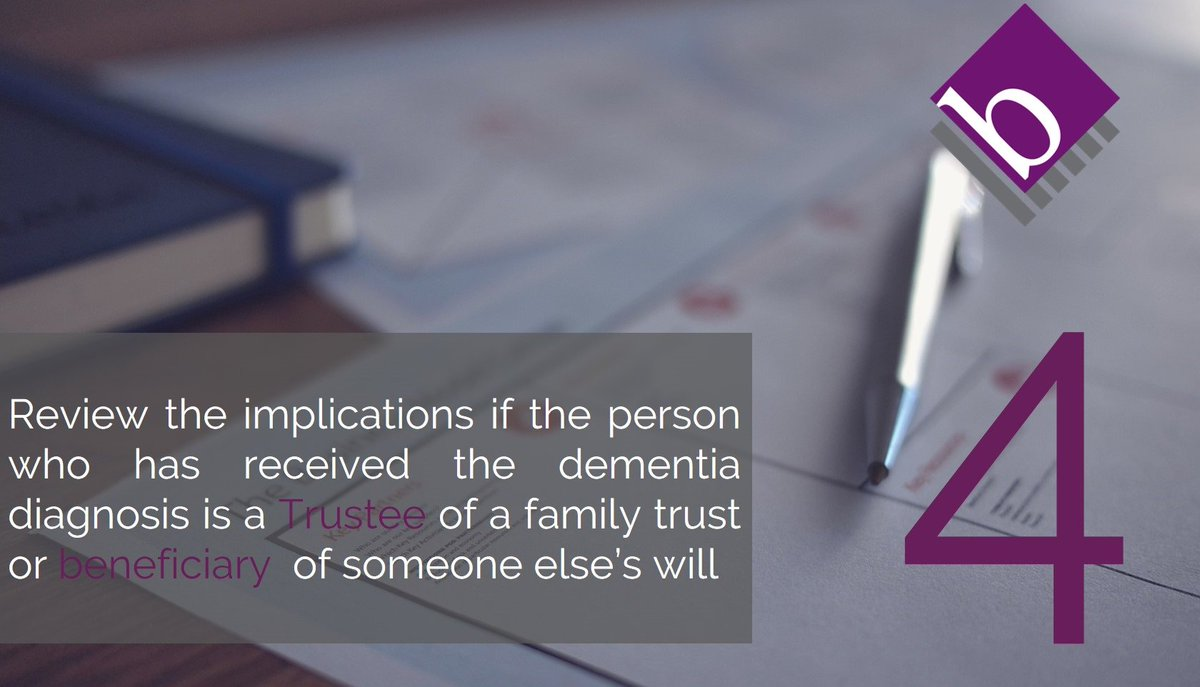 Family and friends of a #Dementia sufferer, may wish to review their own #will or #trusts #DementiaAwarenessWeek   https://www. berwin.co.uk/blog/the-legal -steps-following-a-dementia-diagnosis &nbsp; … <br>http://pic.twitter.com/u0VhiBjW2P
