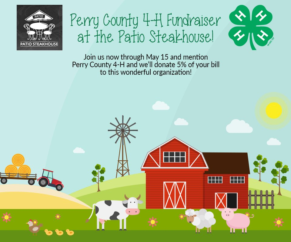 Today Is The Last Day For Our Perry County 4 H Raise Money This Month! Come  In And Mention The Perry County 4 H, And Weu0027ll Donate 5% Of Yo  U2026pic.twitter.com/ ...