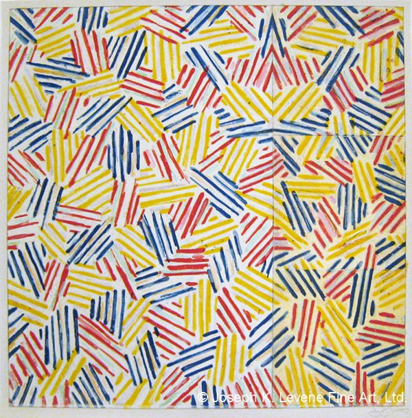 AND it\s Happy Birthday to Jasper Johns