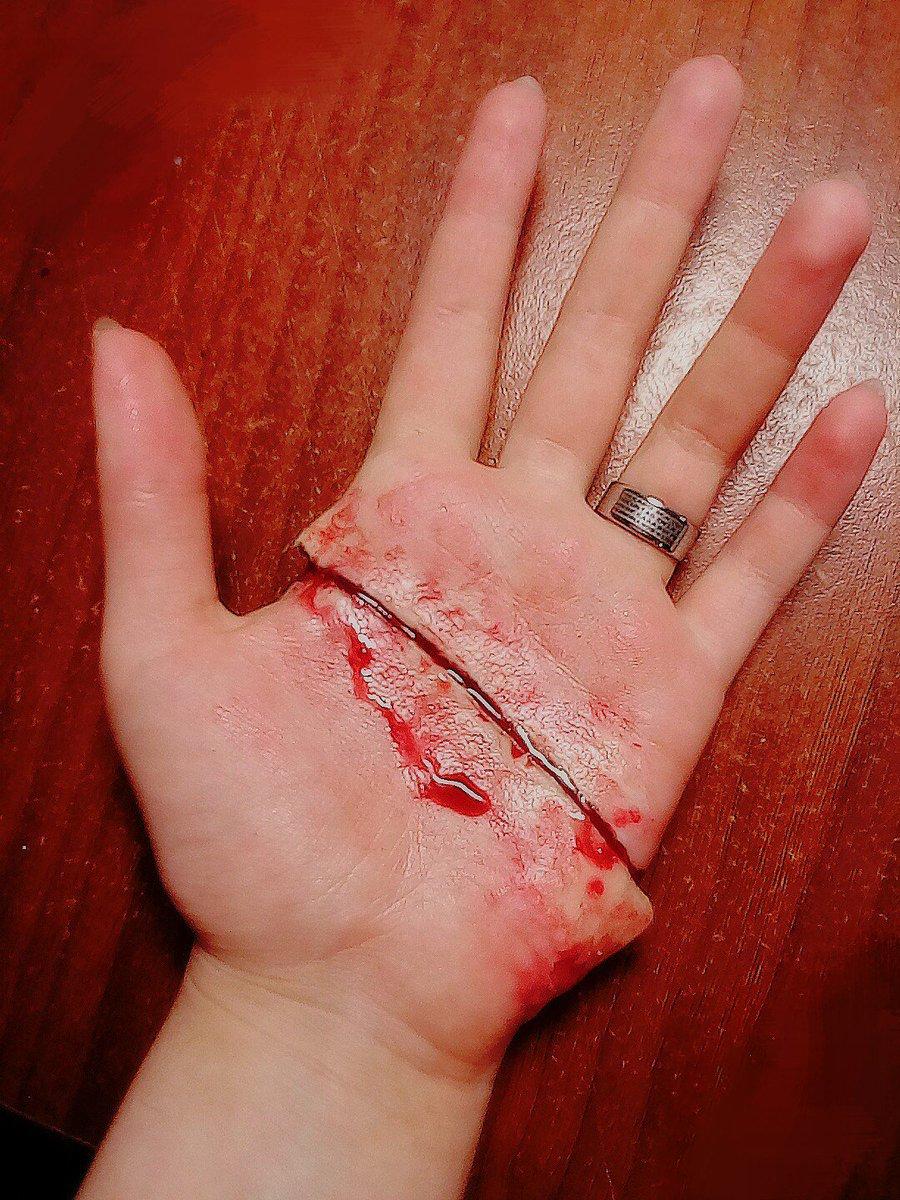 картинки с резаными руками всегда можно красиво