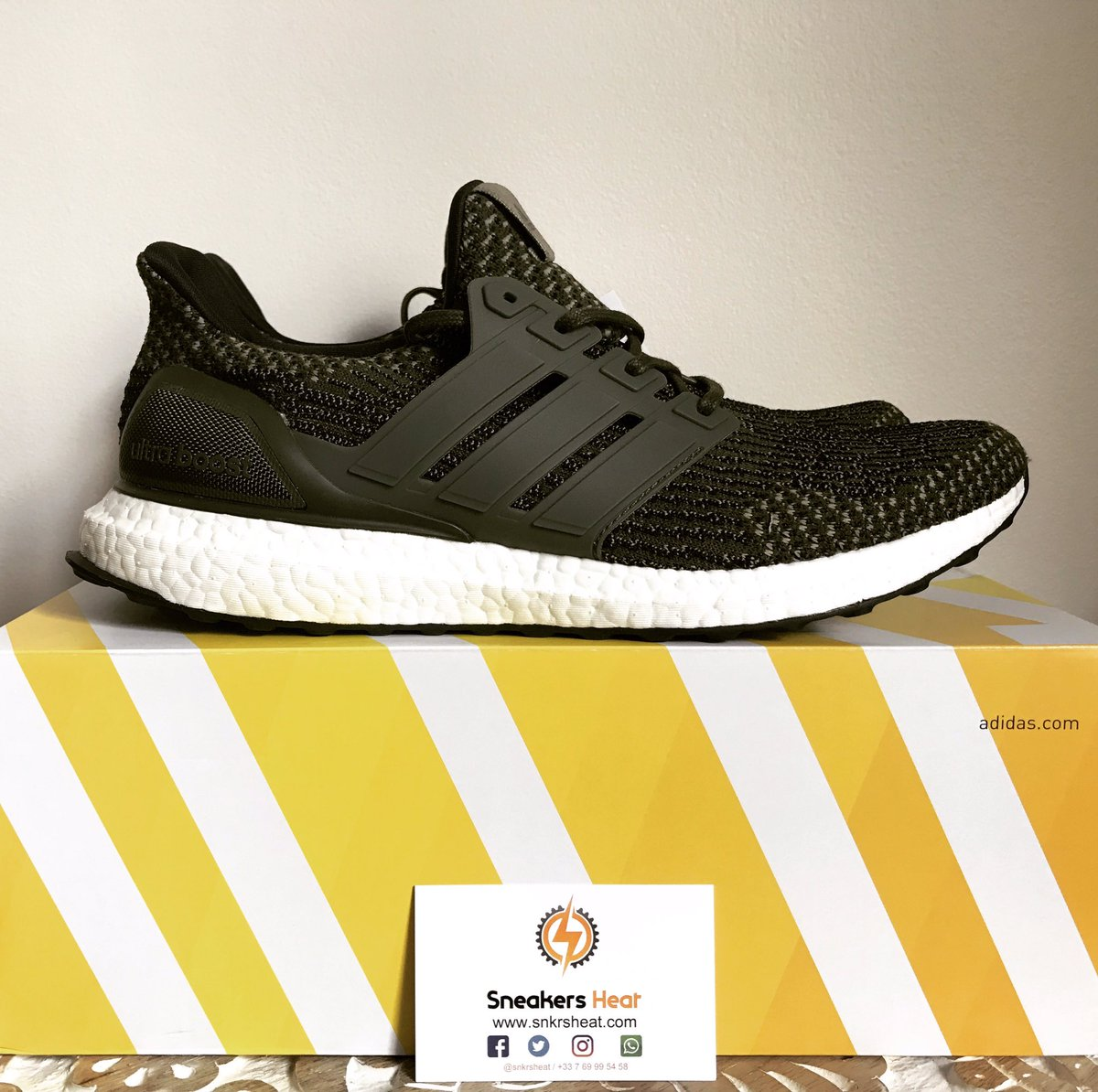 Adidas Ultra Boost 3.0 LTD Triple Black BA8920 Limited Edition