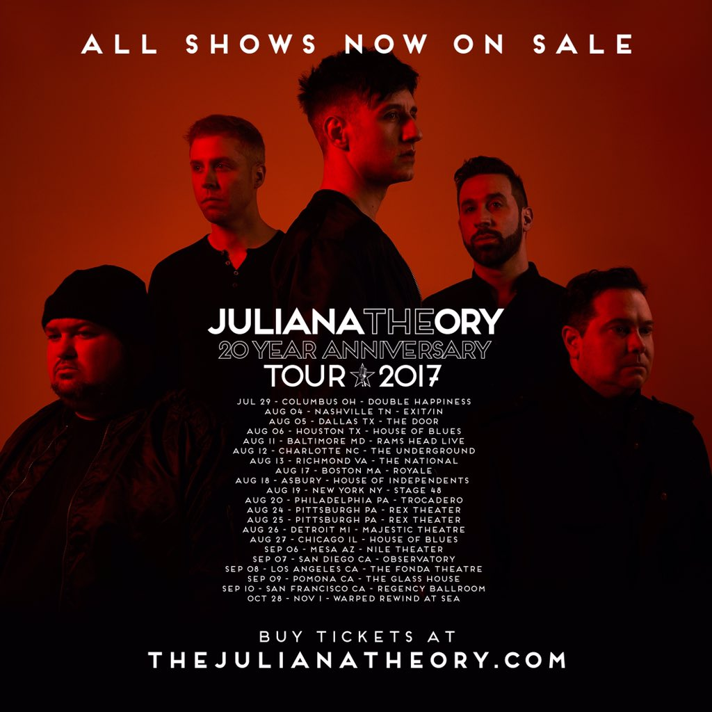 Full tour just went on sale today.  ALL SHOWS NOW ON SALE!!!  buy your tickets now at https://t.co/guSwlNKkwd https://t.co/KQdOZYTm68