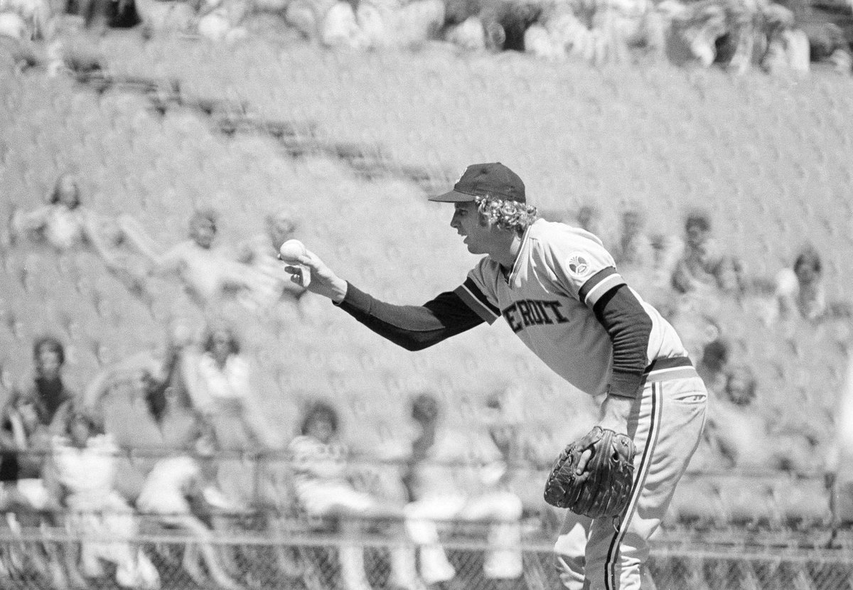 """Detroit Tigers on Twitter: """"#OTD 1976: Mark Fidrych makes his ..."""