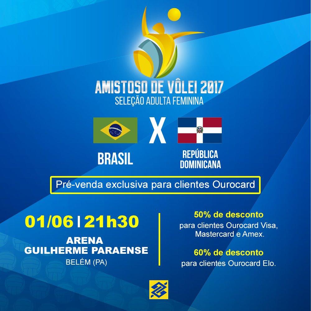 É amanhã! Dia 16/5, a partir de 12h, tem a pré-venda do jogo entre 🇧🇷 e 🇩🇴. Garanta o seu ingresso, #TorcidaBrasil! https://t.co/vAtpAhfZMP