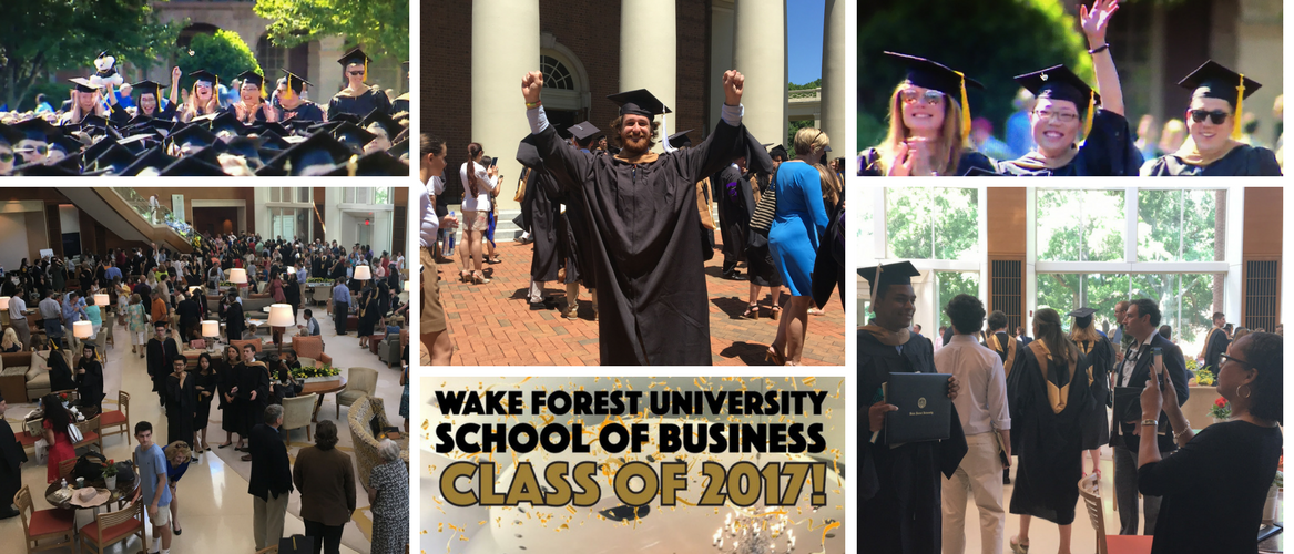Celebrating the Class of 2017! https://t.co/4aJHtpv8CP #wfugrad #bizdeacs