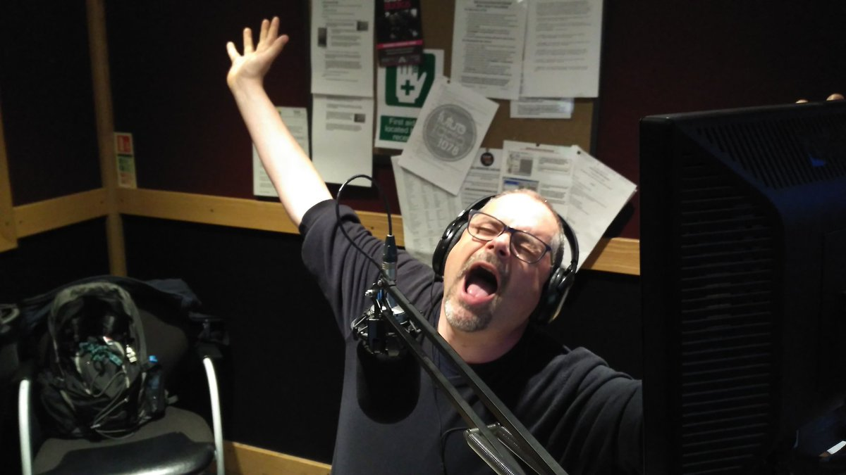 @RichardMaun enjoying the tunes tonight with @HubFizz  on #norwichhour ! https://t.co/GXHJ5r8yWZ