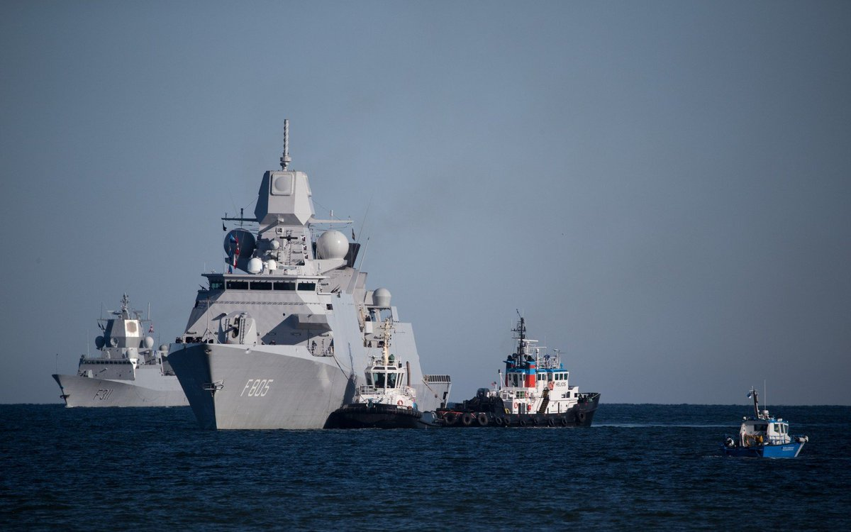 .@NATO vessels show up at Port of Tallinn Estonia