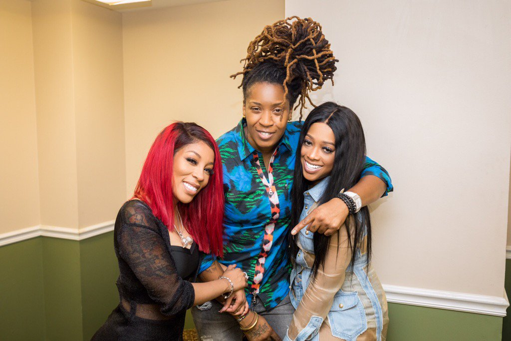 I love to see women genuinely supporting each other!! Appreciate the luv @kmichelle ❣️✨great show @TRINArockstarr https://t.co/2GaIEyPWpg