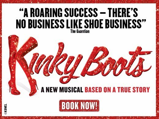Went to see kinky boots tonight with Karen it was brilliant #adelphi <br>http://pic.twitter.com/BerJ5f1xks