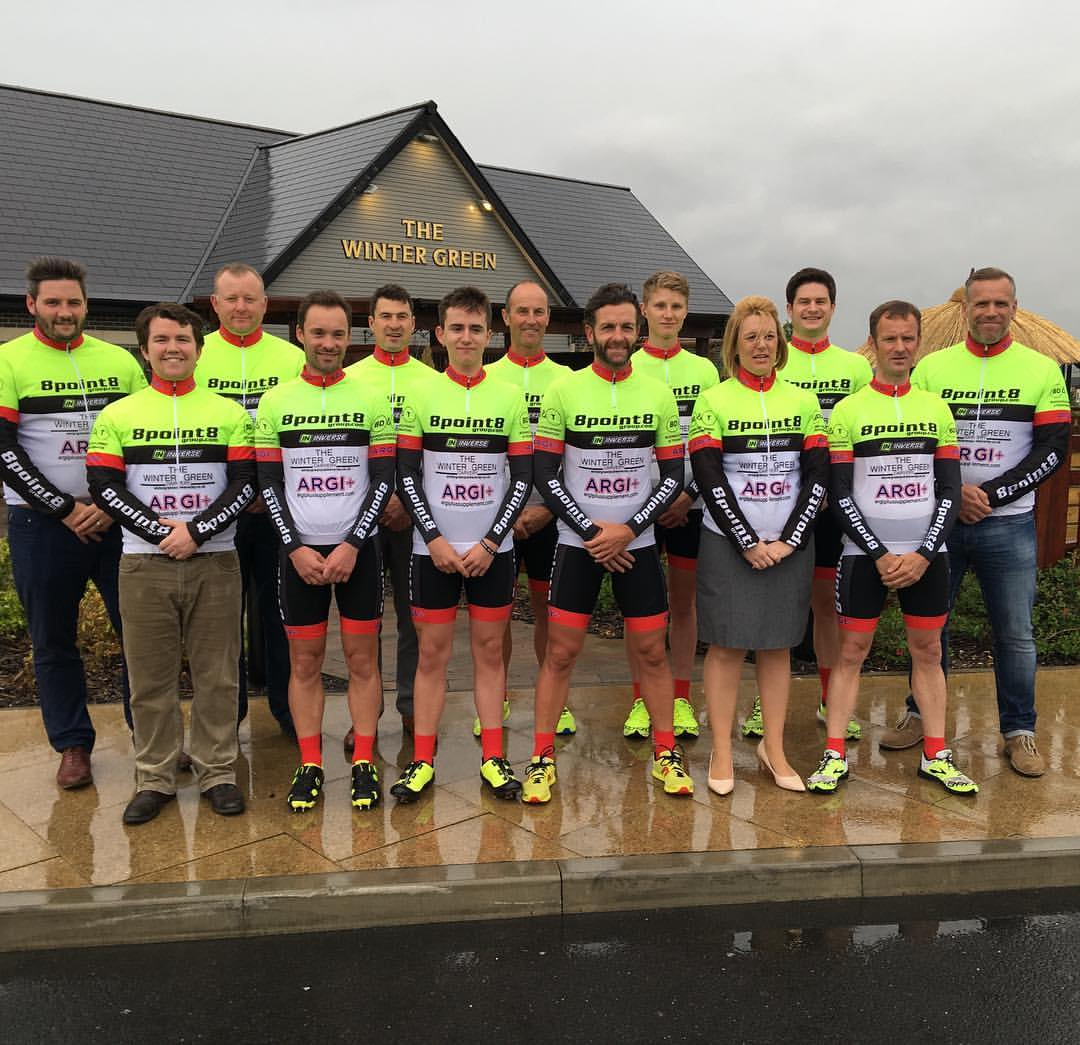 Team ARGI+ - 8point8 - The winter green team launch 2017 @argiplus @8point8Group #cycling #cyclisme <br>http://pic.twitter.com/WOQZPFPN8Z