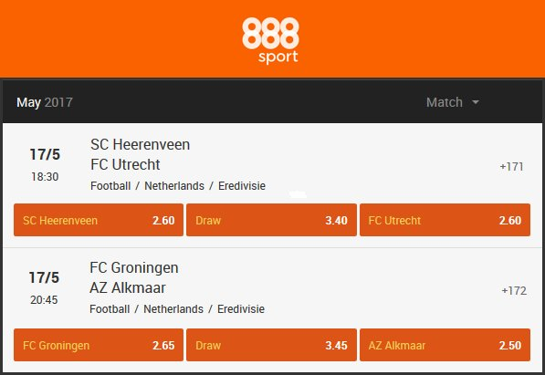 888Sport: Play-offs voor Europa League