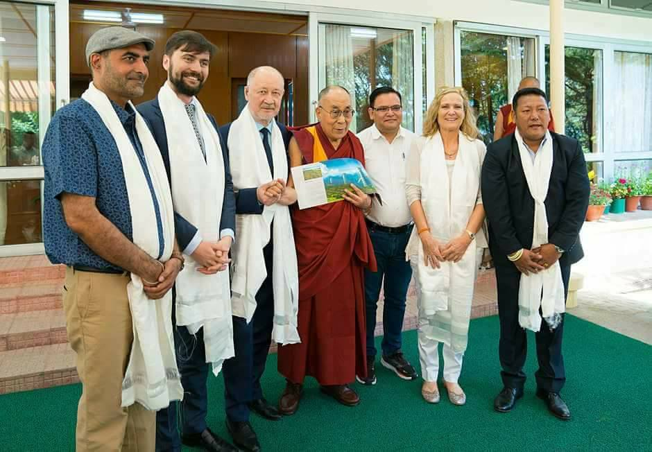 Dalai Láma a Skyway tesztparkban!