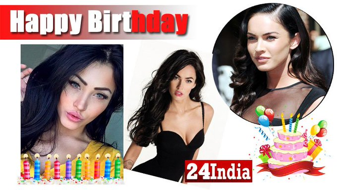 Happy Birthday to Megan Fox -