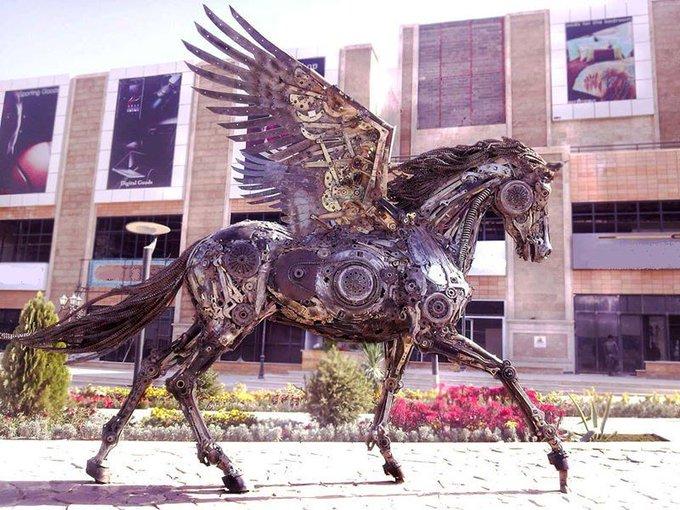 Pegasus by Hasan Novrozi