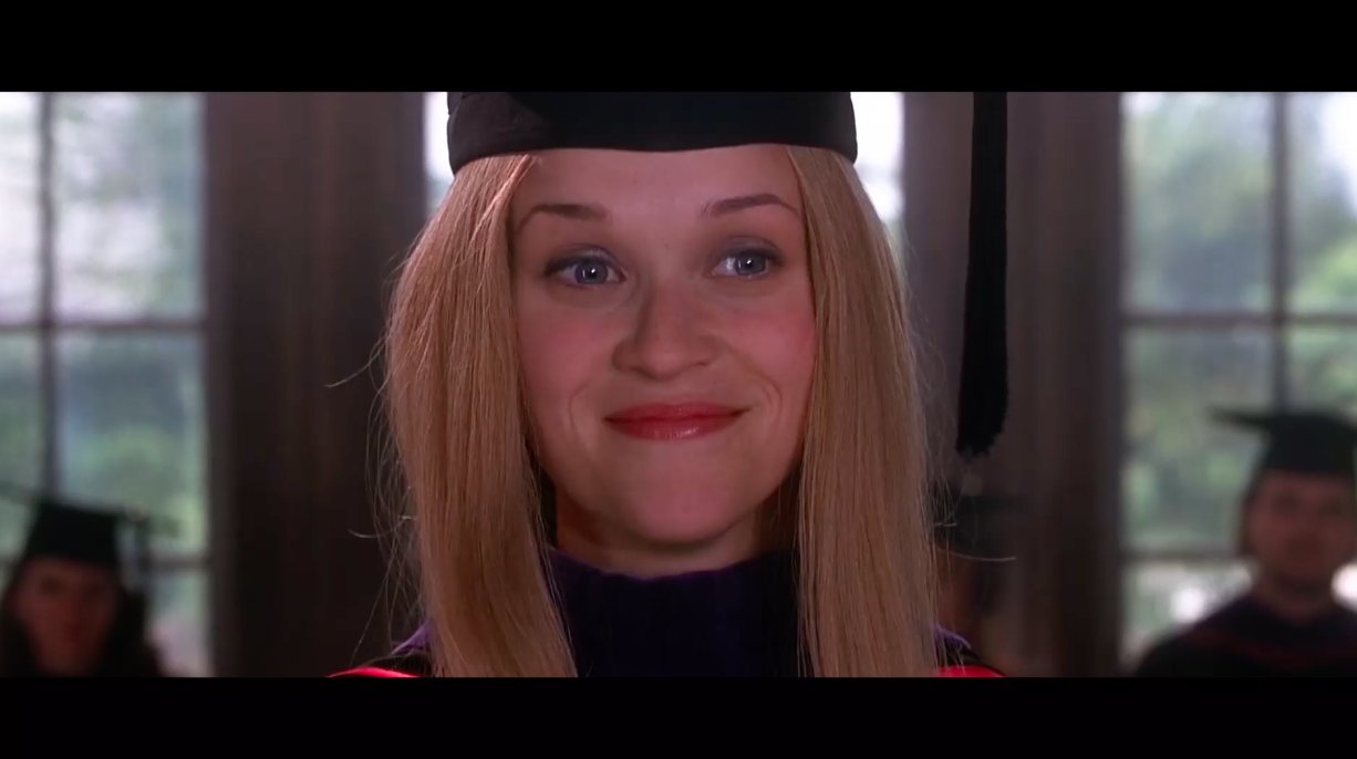 Tonight: Trump plagiarized his commencement speech from Elle Woods in Legally Blonde https://t.co/EScE4B02F8