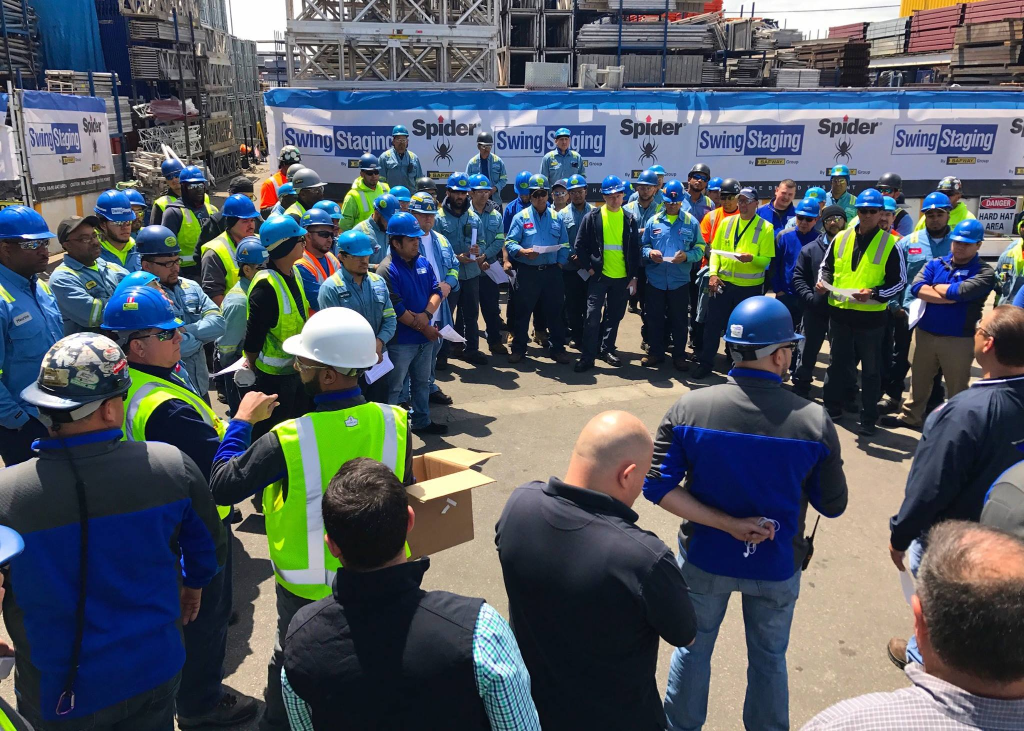 Re-energizing our commitment to workplace and jobsite safety in New York. #StandDown4Safety https://t.co/TfK4CEqADq