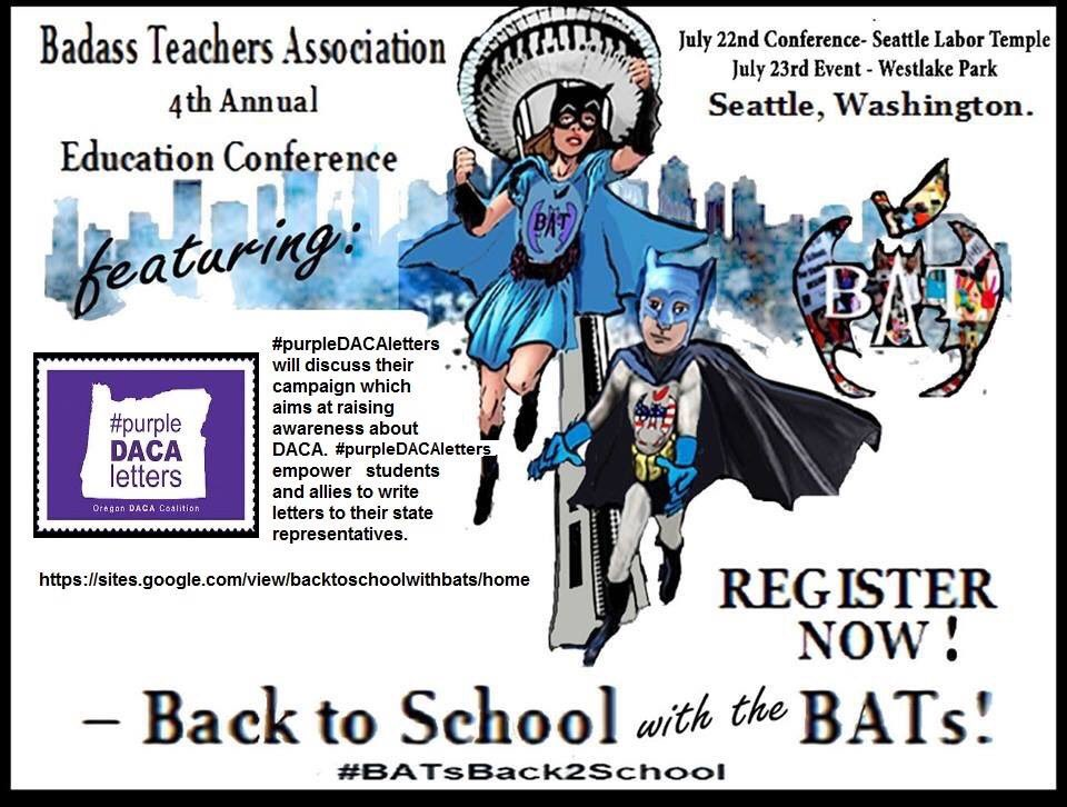 Image result for BATs Annual Conference in Seattle in July!