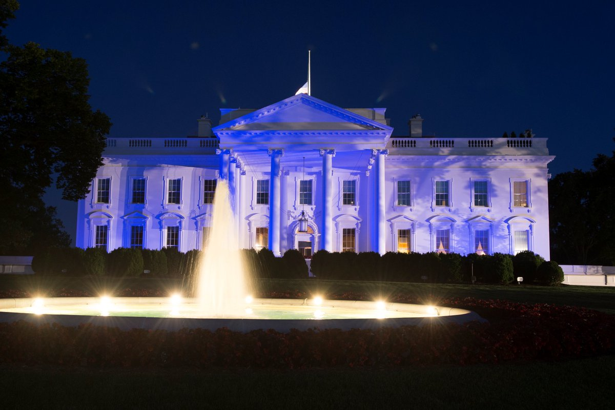 "the white house on twitter: ""tonight the white house is"