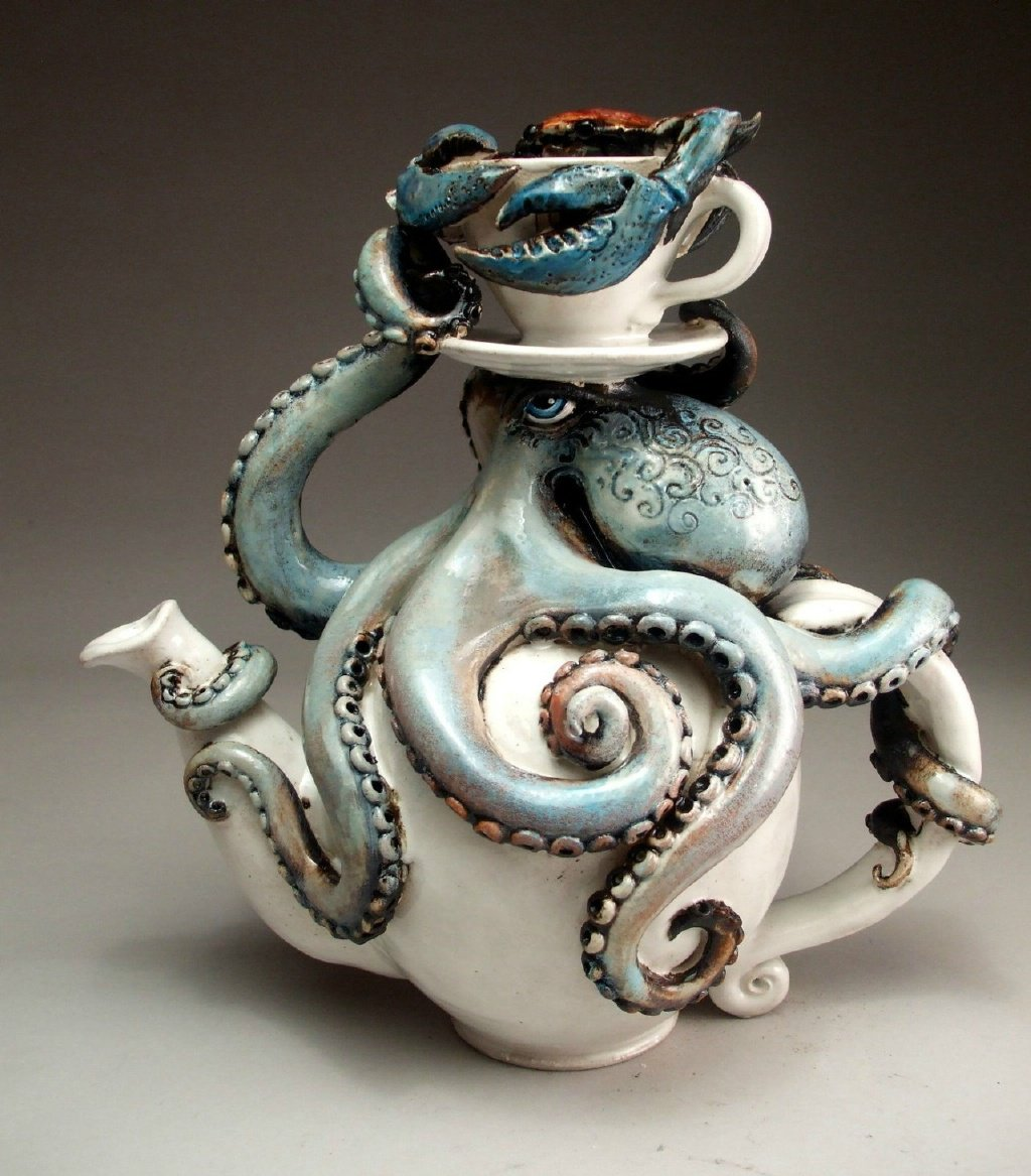 Aesthetic Sharer Zhr On Twitter Octopus Ceramic Art Pottery Artist Grafton Pottery Https T Co Hcsrpcmwso Https T Co Sel6gqb4kw