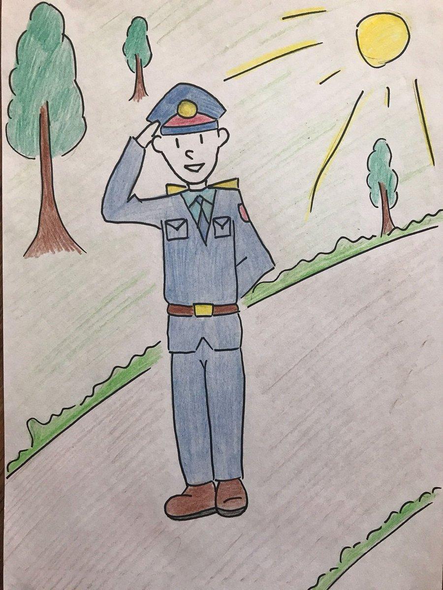 Рисунок дяди степы милиционера карандашом поэтапно