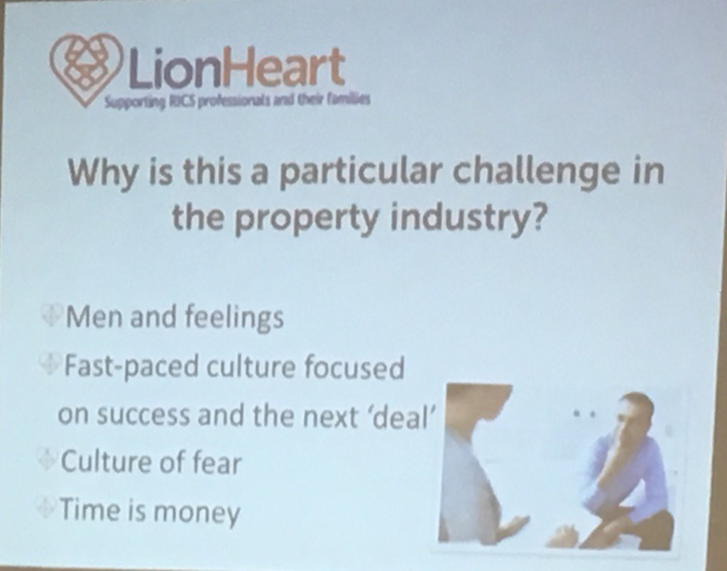 Why is mental health a challenge in property industry? Hot topic at John O'Halloran Symposium - Manchester #joh