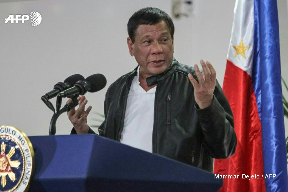Philippines' Duterte says open to exploring South China Sea resources with rival claimants China, Vietnam