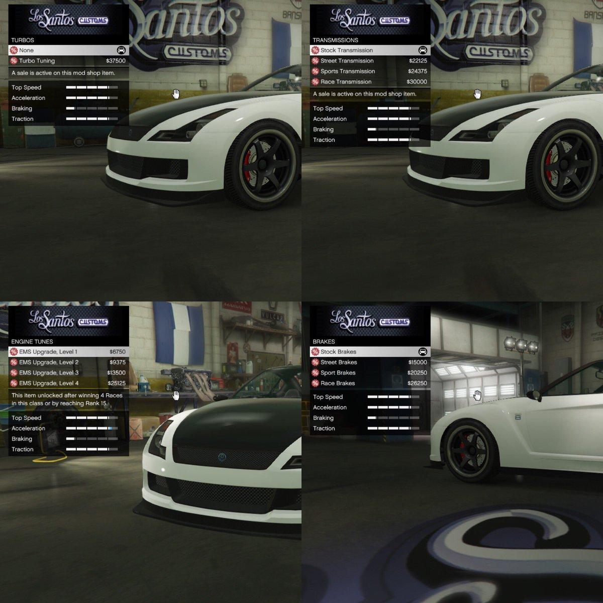 gta v online vehicle upgrade unlocks