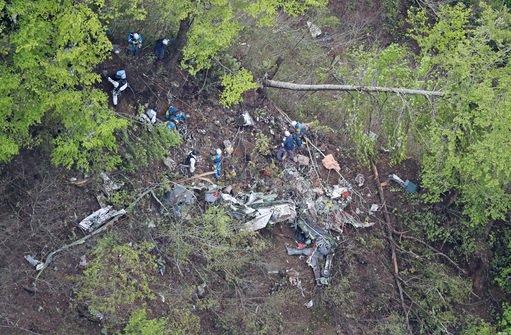 3FGYVywp94LTT 【消えた自衛隊機】北海道北斗市の山中で機体を発見 4人全員遺体となって見つかる