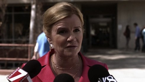 Happy Birthday to Mare Winningham who played Ellis Hartley Monro in  Torchwood - Escape to L.A