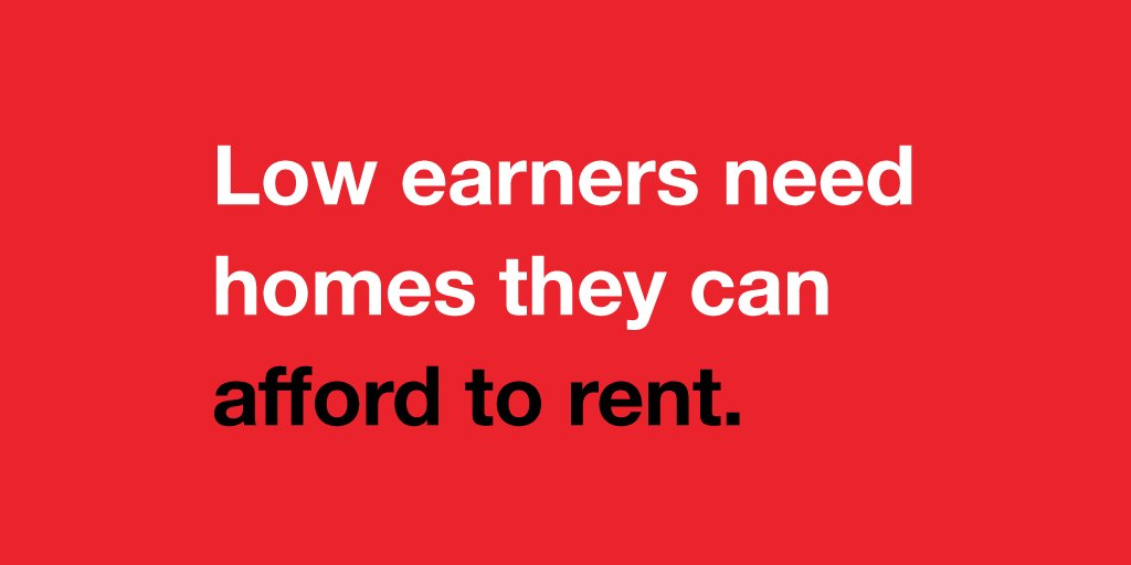 Retweet if you want homes that allow people to live a decent life, rather than just scrape by. https://t.co/DKrEPtl3WS