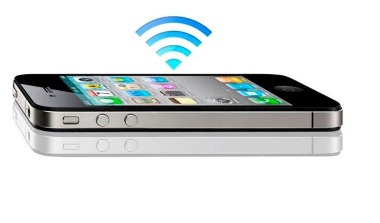 iphone 4s не ловит модем