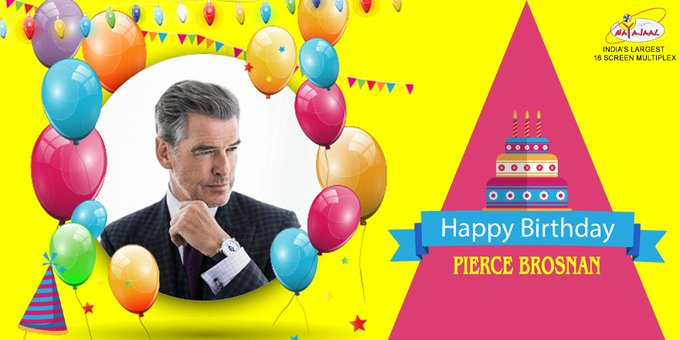 Wishes a very Happy Birthday to the  Pierce Brosnan :)